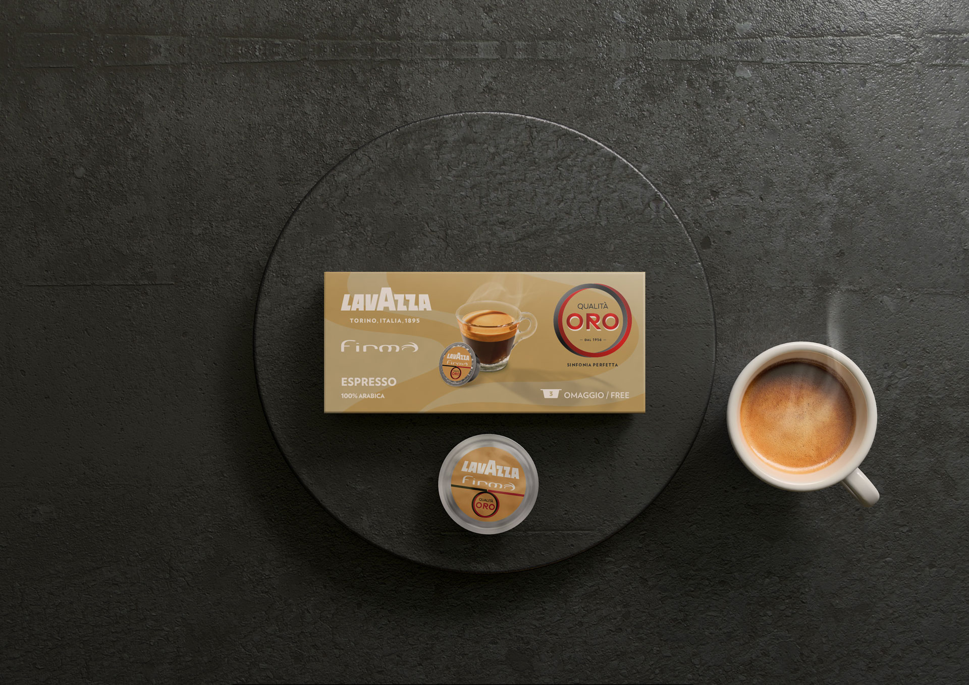 Packaging Design Lavazza Firma